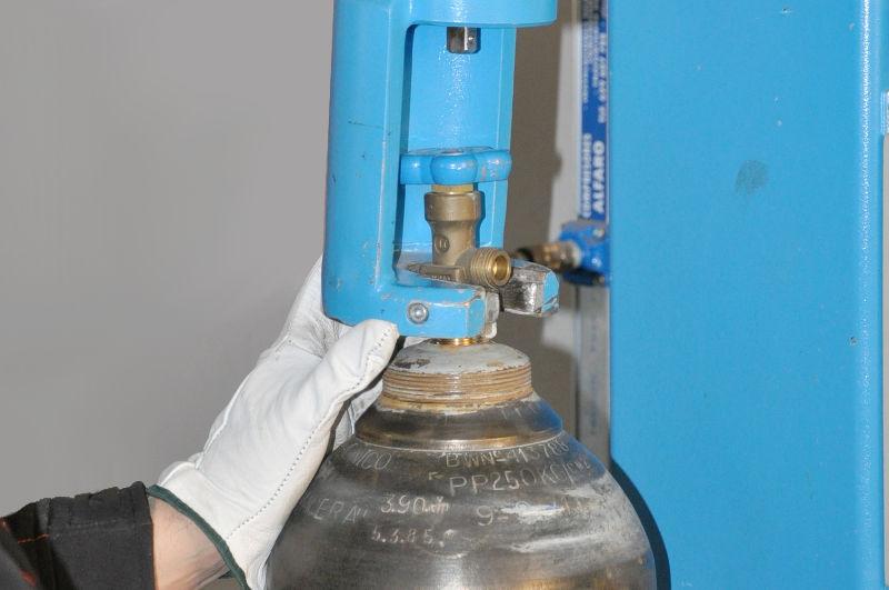 inspección cuello botella