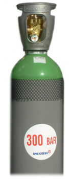 botella de gas 300 bar