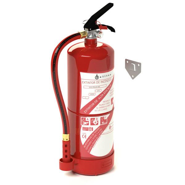 recarga extintor polvo