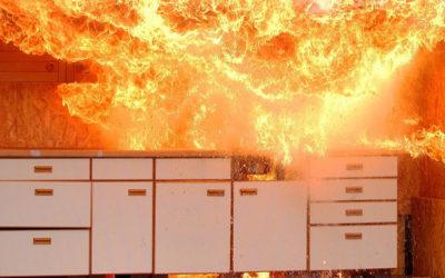 Prevención de incendios domésticos