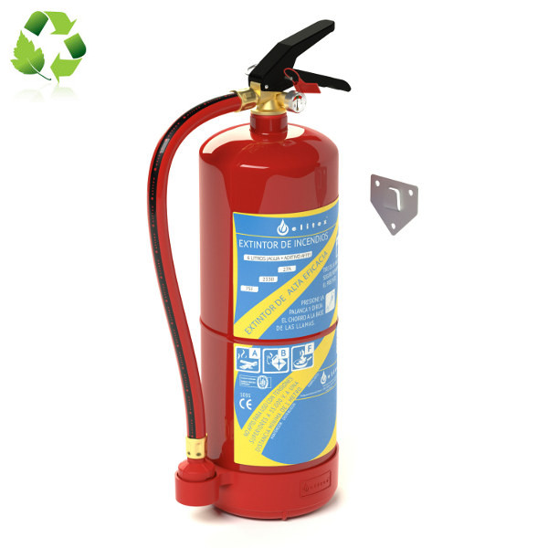 Comprar Extintor espuma y agua ABF 6 l.
