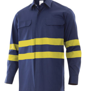 Comprar Camisa ingnífuga - antiestática con cintas reflectantes