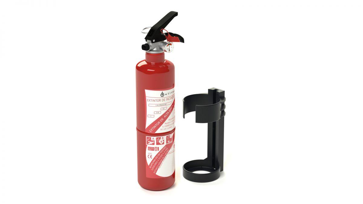 Comprar Extintor polvo ABC 1 kg.