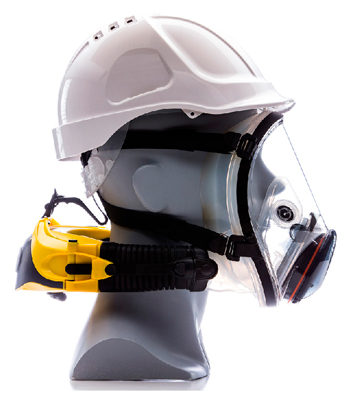 protección respiratoria soldadura Clean Space EX