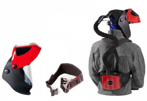 protección respiratoria pantalla soldar galaxy pro